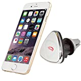 iSunnao Magnetic Smartphone Car Mount - 360° Rotation Air Vent Mount with Ball Joint - Universal for Apple/Samsung/HTC/Windows/Android Smartphones