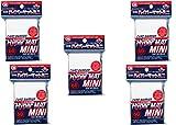 KMC [White] Card Barrier Hyper Mat Mini Sleeves 60pcs × 5 Sets (5 Packs/Total 300 Sheets) from Japan