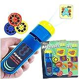 NiuCa Kinder Diaprojektor Taschenlampe, Spielzeug für Jungen 2-10 Jahre alte Kinder Fackelprojektor...