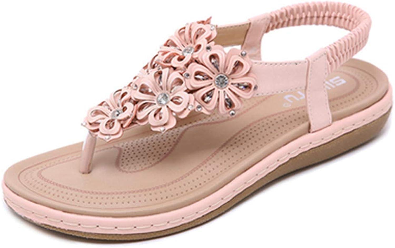 Owen Moll Women Flats Sandals Bohemia Stylish Flip Flop Female Summer Casual Cozy Beach shoes