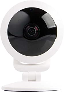 Vivitar IPC117-WHT 360 Wide Angle 1080p HD Wi-Fi Smart Home Camera with Motion Detection, Cloud Backup, Night Vision, Child and Pet Monitor, Two-Way Audio, iOS and Android App for Home Or Office Use
