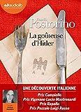 La Goûteuse d'Hitler - Livre audio 1 CD MP3 - Audiolib - 15/05/2019
