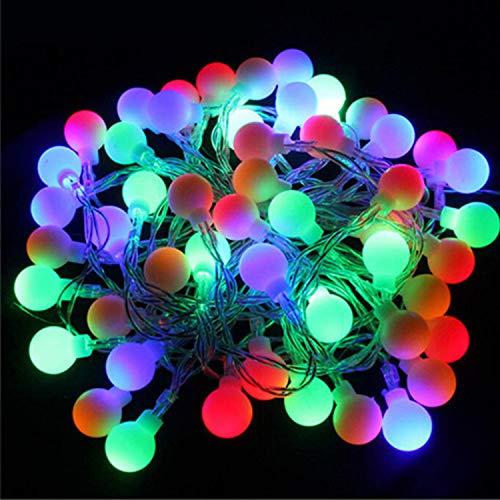 LAEMILIA 3M, 6M, 10M LED Lichtketten 20er, 40er, 80er Batterienbetriebene Lichter Weihnachten Deko Party Festen Indoor Outdoor Garten Lichtervorhang Fasching Karneval Beleuchtung