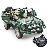 Ycco 629 Rexco Piece 10in1 RC Radio control remoto Recargable Racing Car Building Blocks Construye tu propio modelo de juguete de ladrillos Educativo para niños Niños Set de construcción Kit de vacaci