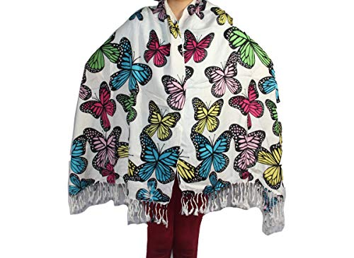 Highwaypay Tawny Yoga Gypsy Hippie Boho Bohemia Best Seller lightweight butterfly Pashmina/Shawl/Wrap/Stole 3078