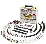 Accessoires d'outil Rotatif, POPOMAN 313 Pièces Pour Accessoires de Coupe, de Meulage, de Ponçage, d'affûtage, de sculpture et de polissage de meuleuse électrique
