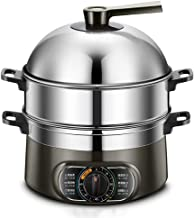 DYB Cuiseur à Vapeur électrique Multifonctionnel ménage cuiseur à Vapeur électrique 2-3 Couches Grande capacité Mise Hors ...