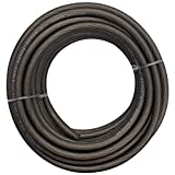Seismic Audio - SA-0GAPGC06-20 Foot 8 Gauge Power Amplifier Ground/Power Wire for Car Audio - Black Amp Wire