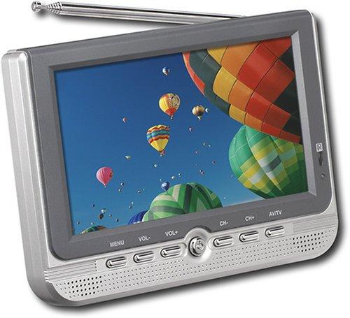 """CURTIS Portable 7"""" Color Widescreen LCD TV"""