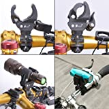 Shells The First And Latest Version Black Bicycle Flashlight Mounting Bracket Speaker Clamp Holder For Bike--Black