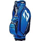 ブリヂストンゴルフ(ブリヂストンゴルフ) キャディバッグ 限定エナメル 9型 CBG01B (ブルー/FF/Men's)