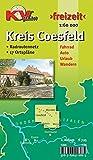 Coesfeld Kreiskarte für das südliche Münsterland: 1:60.000 Freizeitkarte mit beschildertem Radroutennetz und 17 Ortsplänen in 1:25.000 (KVplan Münsterland-Region) - Kommunalverlag Tacken e.K.