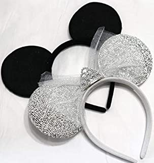 bride and groom mouse ears
