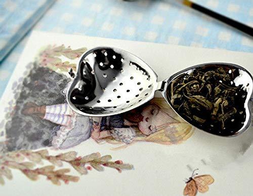 FidgetGear - Infusor de té de Acero Inoxidable con Filtro de Filtro para Hierbas y Especias, Show, tamaño único
