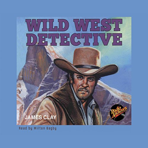 Wild West Dectective audiobook cover art