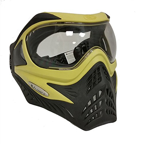 VForce Grill Paintballmaske mit Thermalglas, Lime on Black, SPECIAL EDITION