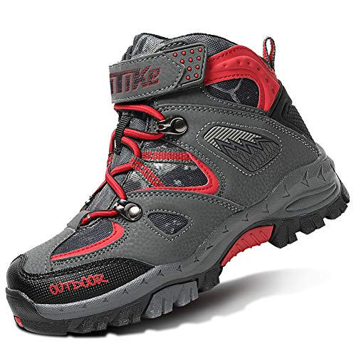 Boys Winter Shoes Kids Camp Shoes Hiker Shoes Snow Shoes for Girls Sneakers Outdoor Walking Antiskid Hiking Boots Boys Girls Camp Shoes Boot Climbing Shoes for Girls Sneakers Outdoor