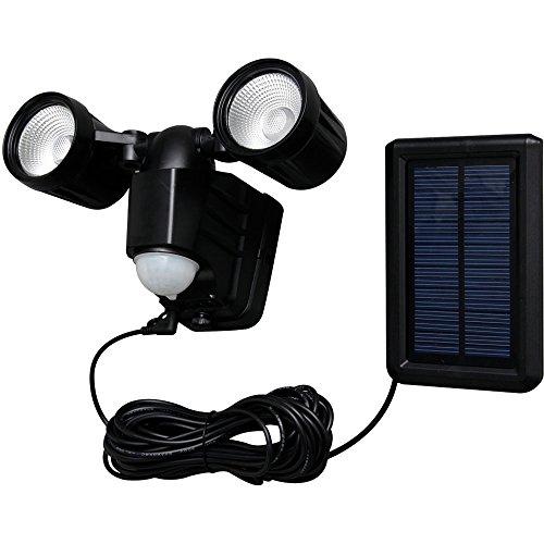 アイリスオーヤマ センサーライト LED ソーラー式 防犯 LSL-SBTN-400D