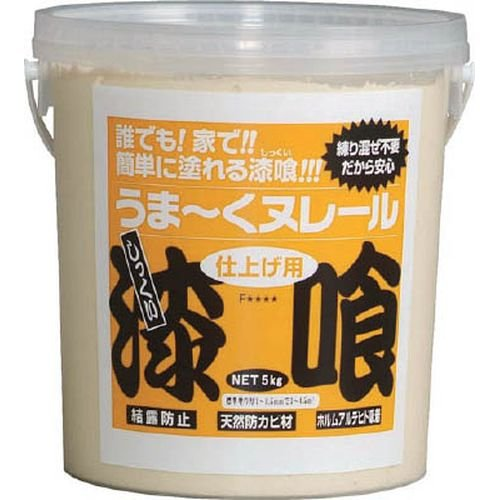 日本プラスター うま~くヌレール 5kg クリーム色 12UN02 (クリームイロ)