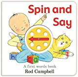 Spin and Say: A First Words Book