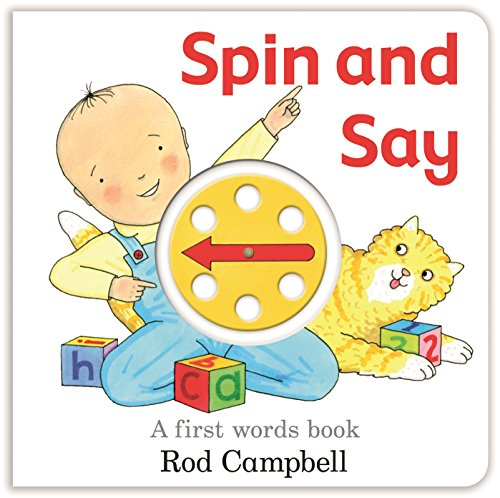 Spin and Say: A First Words Bookの詳細を見る