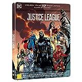 Warner Home Video Liga da Justiça - Steelbook - BLU-Ray 3D + BLU-Ray
