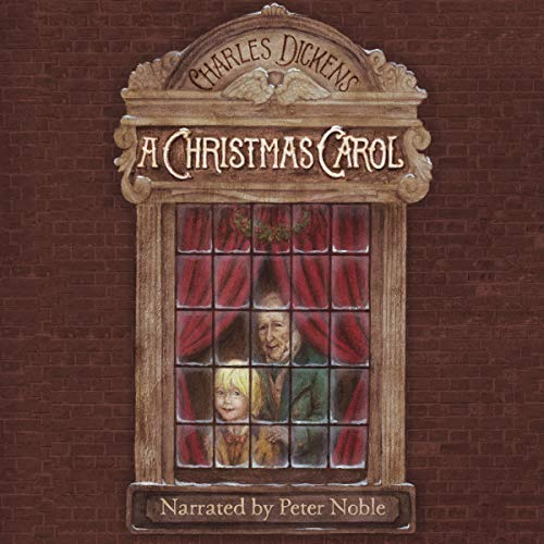 A Christmas Carol audiobook cover art