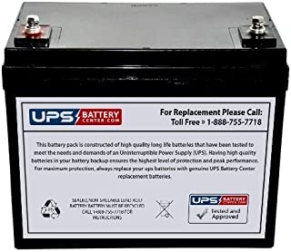 12V Group 34 Replacement Battery For Pride 1133 Comp Jazzy Scooter