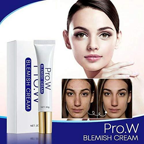 KiMiLIKE Anti Blemish Crème Spots Suppression Pimple Pommade Scar Marques Crème éclaircissante acné Prone Soins de la Peau Naturelle et Biologique du Visage hydratant