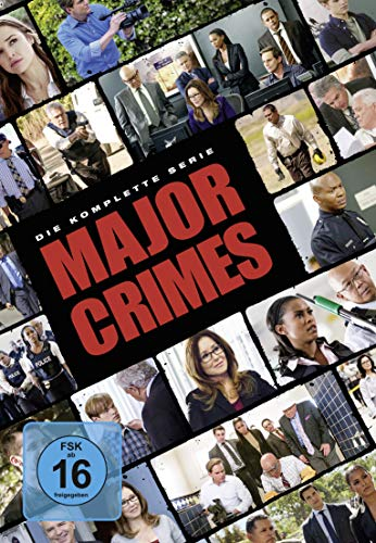 Major Crimes - Die komplette Serie [24 DVDs]