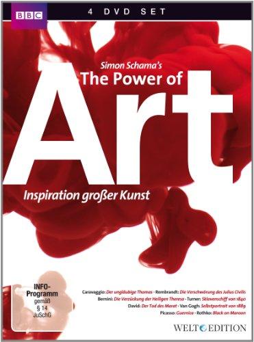 Power of Art - Inspiration großer Kunst [4 DVDs] WELT Edition