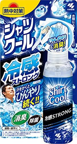 桐灰化学 熱中対策 シャツクール 冷感ストロング 衣類にスプレーするだけ 汗をかくとひんやり続く 100ML