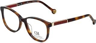 Carolina Herrera Designer Eyeglasses VHE734K-752Y in Tortoise 50mm DEMO LENS