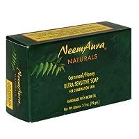 海外直送品 Neemaura Ultra-Sensitive Soap, Cornmeal/Honey (Combo Skin) 1 Bar