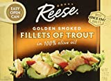 Reese Golden Smoked Fillet of Trout, 3.75 Ounce - 10 per case.