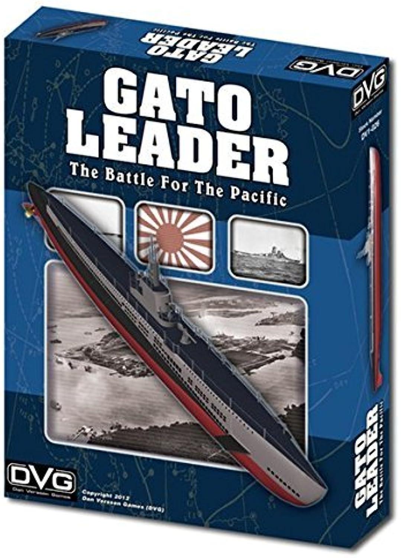 DVG  Gato Leader, the Battle for the Pacific, Solitaire Submarine Warfare Boardgame