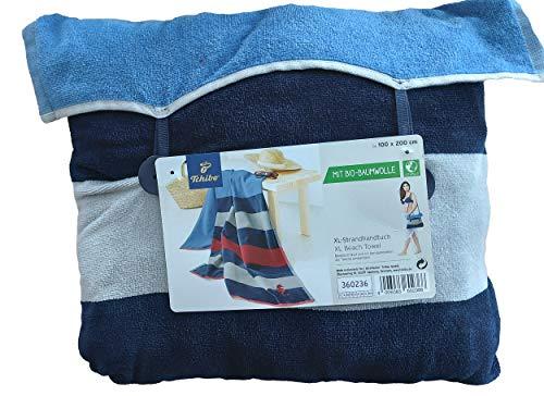 Tchibo 2-in-1-XL-Strandhandtuch- Tasche Strandtuch Handtuch
