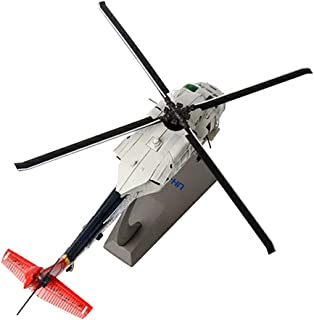 dailymall 1/72 Scale UH-60 Blackhawk Utility Helicopter - Diecast Helicopter Jet Toy Airplane Model on Stand, Premium Military Aircraft