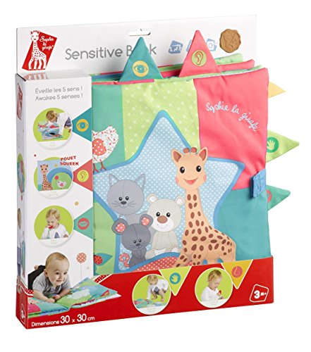 Vulli - Fresh Touch - Sophie la Girafe - Livre d'éveil Sensitive Book
