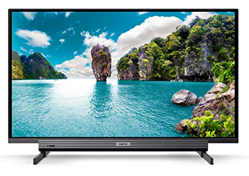 METZ Blue MTB4001Y 32 Zoll Smart Fernseher, Triple Tuner, Netflix, Video, YouTube (HDMI, CI-Slot, USB, digital Audio)