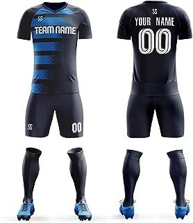 KXK Custom Sportwear Soccer Jersey Sublimated Print-Make Your Own Number-Football Jerseys Gradient Uniforms