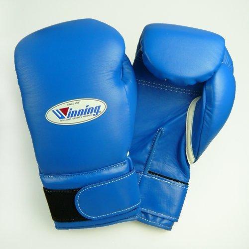 WINNING Training Boxing Gloves 14oz (Blue) MS500B