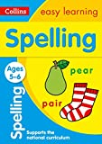 Spelling Ages 5-6: Prepare for school with easy home learning (Collins Easy Learning KS1)