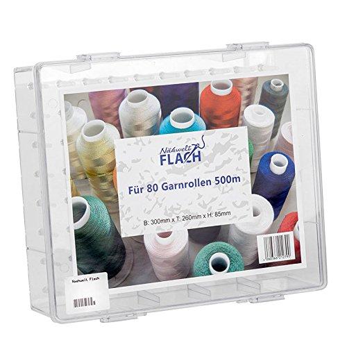 Nähwelt Flach -  Garnbox für 80