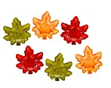 Fall Autumn Maple Leaf Stackable Salsa Bowls, Snack, Dip, Crackers,...