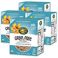 4-Pack Nature's Path Maple Almond Crunch Organic Grain Free Hot Cereal, 6.21 Oz
