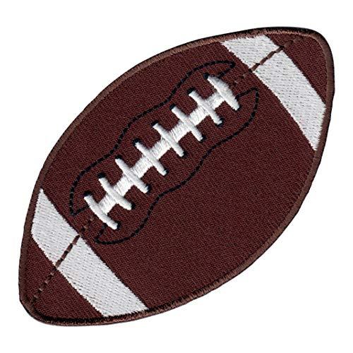 PatchMommy Football Rugby Patch Aufnäher Applikation Bügelbild Ball Sport - zum Aufbügeln oder Aufnähen - für Kinder/Baby