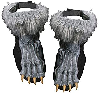 Werewolf Shoe Cover Adult Grey - FW90569GY