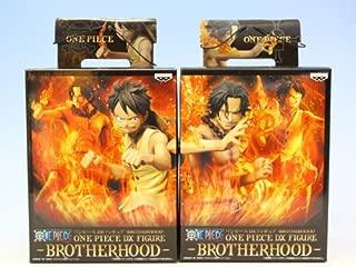 Japan Import One Piece DX figure BROTHERHOOD ONE PIECE Banpresto (with all two full set + Poster bonus)
