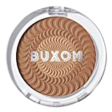 Buxom Staycation Vibes Primer-Infused Bronzer, Rooftop Tan (Golden Tan), 0.14 oz.